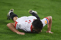 SEVILLE, SPAIN - DECEMBER 02: Oscar Rodriguez of FC Sevilla during the UEFA Champions League Group E stage match between FC Sevilla and Chelsea FC at Estadio Ramon Sanchez-Pizjuan on December 2, 2020 in Seville, Spain. (Photo by Juan Jose Ubeda/MB Media)