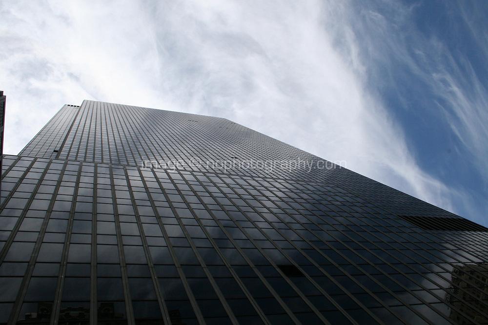 Skyscraper building in New York city