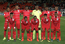 Free State Stars during the 2016 Premier Soccer League match between Chippa United and Free State Stars held at the Nelson Mandela Bay Stadium in Port Elizabeth, South Africa on the 23rd August 2016<br />