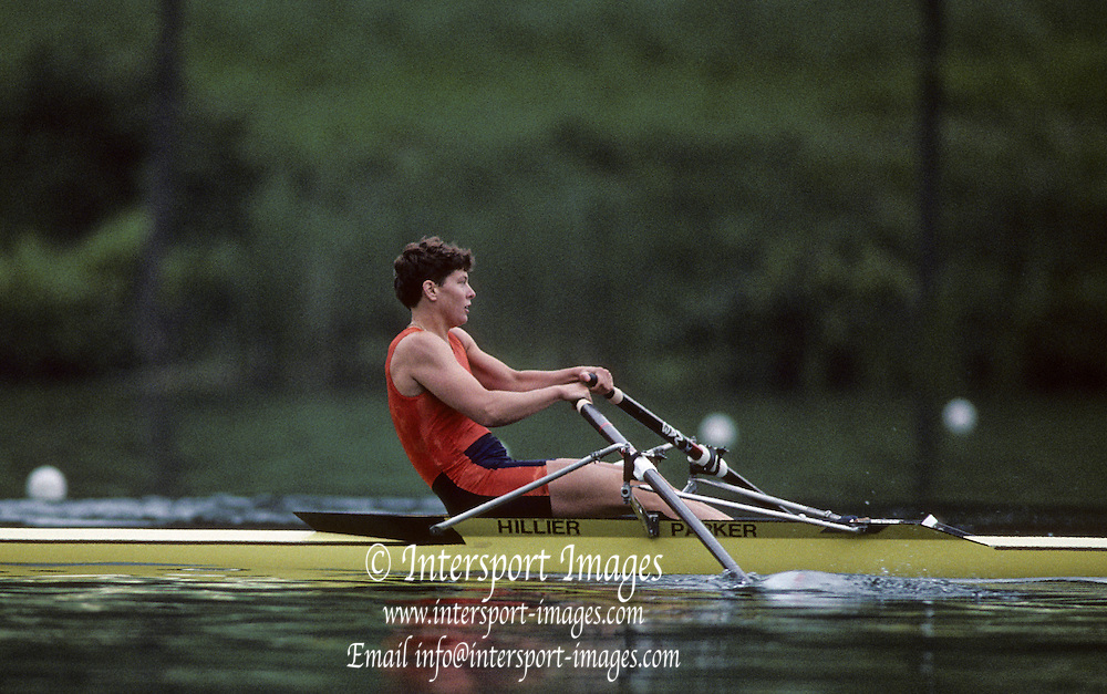 Lucerne, SWITZERLAND  GBR  W1X. Tish REID. 1992 FISA World Cup Regatta, Lucerne. Lake Rotsee.  [Mandatory Credit: Peter Spurrier: Intersport Images] 1992 Lucerne International Regatta and World Cup, Switzerland