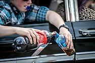 Springmeet 2019, Östersund - 18 MAJ 2019: Blanda utanför bilen under Cruising på Krondikesvägen. (Foto: Per Danielsson/Projekt.P ) <br /> <br /> Nyckelord Keywords: Springmeet 2019, Crusing,