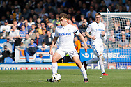 Leeds United midfielder Kalvin Phillips (23) during the EFL Sky Bet Championship match between Burton Albion and Leeds United at the Pirelli Stadium, Burton upon Trent, England on 22 April 2017. Photo by Richard Holmes.