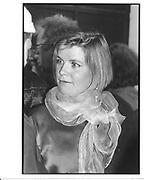 Charlotte Faber. London. 1987 approx. © Copyright Photograph by Dafydd Jones 66 Stockwell Park Rd. London SW9 0DA Tel 020 7733 0108 www.dafjones.com