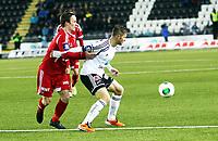 Fotball , 17. mars 2013 , Tippeligaen , Eliteserien , Odd - Rosenborg 0-1<br /> Mike Jensen  , RBK<br /> Mattias Andersson , Odd