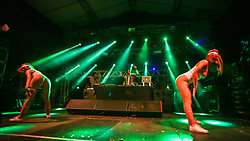 Ariel B durante a 25ª edição do Planeta Atlântida. O maior festival de música do Sul do Brasil ocorre nos dias 31 Janeiro e 01 de fevereiro, na SABA, praia de Atlântida, no Litoral Norte do Rio Grande do Sul. FOTO: <br /> Gustavo Granata/ Agência Preview