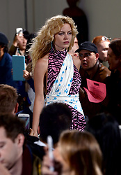 Georgia May Jagger on the catwalk during the Ashley Williams London Fashion Week SS18 show held at The Swiss Church, London. Photo credit should read: Doug Peters/EMPICS Entertainment