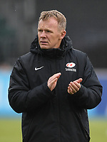 Rugby Union - 2019 / 2020 Gallagher Premiership - Round 22 - Saracens vs Bath - Allianz Park<br /> <br /> Saracens' Director of Rugby Mark McCall during the pre match warm up.<br /> <br /> COLORSPORT/ASHLEY WESTERN