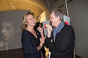 CAROLINE MICHEL; TONY ELLIOT, Isabella Blow: Fashion Galore! private view, Somerset House. London. 19 November 2013