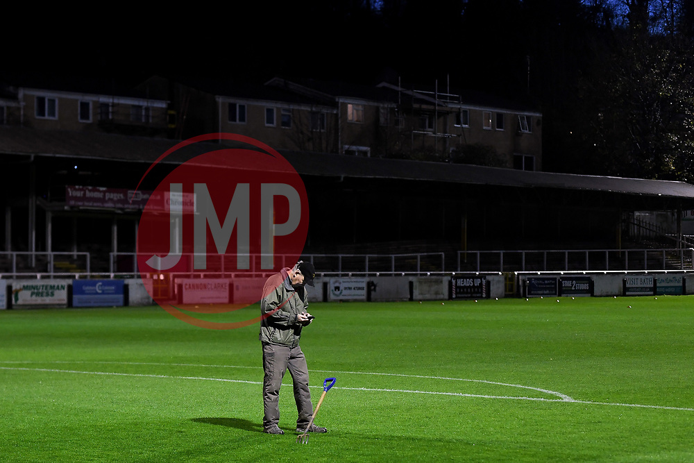 A general view of Twerton Park  prior to kick off - Mandatory by-line: Ryan Hiscott/JMP - 14/11/2020 - FOOTBALL - Twerton Park - Bath, England - Bristol City Women v Tottenham Hotspur Women - Barclays FA Women's Super League