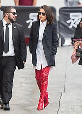 Mila Kunis at Kimmel - 30 Oct 2017