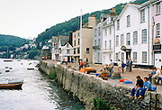 Dart Harbour Quay in Dartmouth, Devon, England, UK