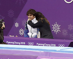 February 17, 2018 - Pyeongchang, KOREA - Shoma Uno of Japan after competing in the men's figure skating free skate program during the Pyeongchang 2018 Olympic Winter Games at Gangneung Ice Arena. (Credit Image: © David McIntyre via ZUMA Wire)