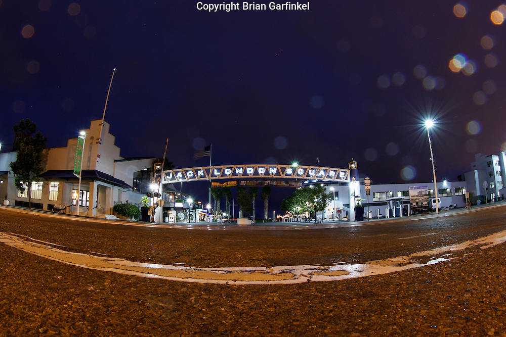 Jack London Square on Monday July 16th 2012 in Oakland, California. (Photo By Brian Garfinkel)
