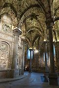 Detail of interior of Roman Catholic Cathedral of Avila, Cathedral de Avila, Spain