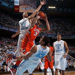 2014-01-26 Clemson at North Carolina basketball