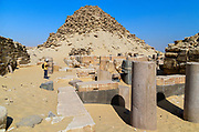 Ruins of the 5th dynasty necropolis at Abu Sir