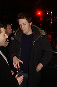 TOM PARKER BOWLES. Party to celebrate the First issue of British Harper's Bazaar. Cirque, Leicester Sq. London. 16 February 2006. ONE TIME USE ONLY - DO NOT ARCHIVE  © Copyright Photograph by Dafydd Jones 66 Stockwell Park Rd. London SW9 0DA Tel 020 7733 0108 www.dafjones.com