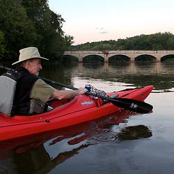 Paddling on Potomac near the Monacacy