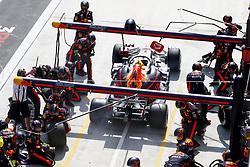 April 15, 2018 - Shanghai, China - Shanghai: Motorsports: Formula 1 2018 Heineken Chinese Grand Prix.Chinese Formula One Grand Prix Shanghai Circuit in Shanghai, China.#33 Max Verstappen (NDL, Red Bull Racing) (Credit Image: © Hoch Zwei via ZUMA Wire)