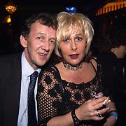 Uitreiking populariteitsprijs 2002, Tom Metz en vriendin Ellen