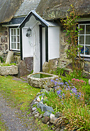 Private garden in Gadgwith, Cornwall England.