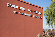 Gabrielino High School in San Gabriel