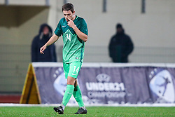 Jonathan Bamba of France during football match between Slovenia and France in Qualifying round for European Under-21 Championship 2019, on November 13, 2017 in Sportni park, Domzale, Slovenia. Photo by Morgan Kristan / Sportida