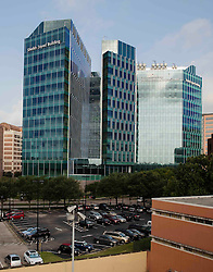 Sheikh Zayed Building, part of MD Anderson Cancer Center at the Texas Medical Center in Houston.