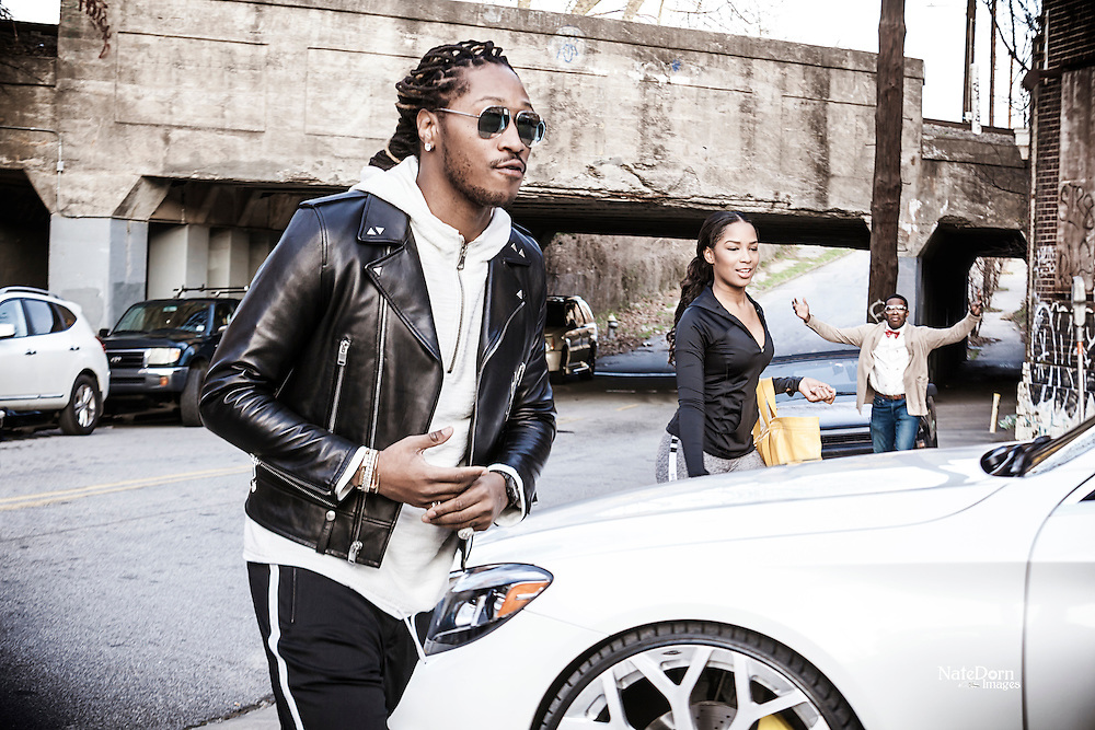 """""""Draco"""" video shoot with Future and the RiTe Media Group."""
