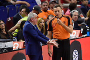 DESCRIZIONE : Madrid Eurolega Euroleague 2014-15 Final Four Semifinal Semifinale Real Madrid Fenerbahce Ulker Istanbul <br /> GIOCATORE : Zeljko Obradovic Arbitro Referee<br /> SQUADRA : Fenerbahce Ulker Istanbul<br /> CATEGORIA : ritratto delusione referee<br /> EVENTO : Eurolega 2014-2015<br /> GARA : Real Madrid Fenerbahce Ulker Istanbul <br /> DATA : 15/05/2015<br /> SPORT : Pallacanestro<br /> AUTORE : Agenzia Ciamillo-Castoria/GiulioCiamillo<br /> Galleria : Eurolega 2014-2015<br /> DESCRIZIONE : Madrid Eurolega Euroleague 2014-15 Final Four Semifinal Semifinale Real Madrid Fenerbahce Ulker Istanbul