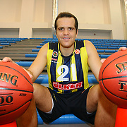 Fenerbahce Ulker's Oguz Savas during their Euroleague Media Day at Fenerbahce Ulker Sports Arena in Istanbul, Turkey, Wednesday, September 26, 2012. Photo by TURKPIX