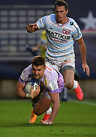 Rugby Union - 2019 / 2020 Heineken Cup - Final - Exeter Chiefs vs Racing 92 - Ashton Gate, Bristol<br /> <br /> Exeter Chiefs' Henry Slade scores his sides fourth try.<br /> <br /> COLORSPORT/ASHLEY WESTERN