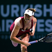 Vera Zvonareva of Russia during their TEB BNP Paribas WTA Championships at Sinan Erdem Arena in Istanbul Turkey on Tuesday, 25 October 2011. Photo by TURKPIX