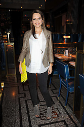 MARIA HATZISTEFANIS founder of cult beauty brand Rodial at a party to celebrate the 1st anniversary of Gift-Library.com held at Bob Bob Ricard, 1 Upper James Street, London on 19th November 2009.