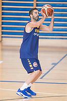 Juan Carlos Navarro during the Spain training session before EuroBasket 2017 in Madrid. August 02, 2017. (ALTERPHOTOS/Borja B.Hojas)
