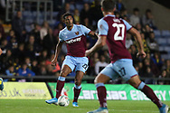 Sebastien Haller (22) of West Ham United during the EFL Cup match between Oxford United and West Ham United at the Kassam Stadium, Oxford, England on 25 September 2019.