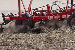 Tilling the soil, farming in Idaho