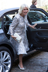 June 16, 2017 - London, London, United Kingdom - Image licensed to i-Images Picture Agency. 16/06/2017. London, United Kingdom. The Duchess of Cornwall arriving at the live broadcast of the final of BBC Radio 2's 500 Words creative writing competition at the Tower of London.  Picture by Stephen Lock / i-Images (Credit Image: © Stephen Lock/i-Images via ZUMA Press)