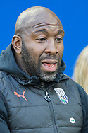 Darren Moore, Head Coach of West Bromwich Albion FC during the FA Cup fourth round match between Brighton and Hove Albion and West Bromwich Albion at the American Express Community Stadium, Brighton and Hove, England on 26 January 2019.