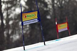 Course prior to the  Men's Giant Slalom of FIS Ski World Cup Alpine Kranjska Gora, on March 5, 2011 in Vitranc/Podkoren, Kranjska Gora, Slovenia.  (Photo By Vid Ponikvar / Sportida.com)