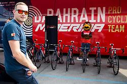 Primoz Segina, service man of Team Bahrain Merida during Stage 1 of 24th Tour of Slovenia 2017 / Tour de Slovenie from Koper to Kocevje (159,4 km) cycling race on June 15, 2017 in Slovenia. Photo by Vid Ponikvar / Sportida