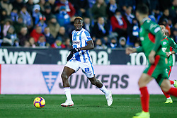 November 23, 2018 - Leganes, MADRID, SPAIN - Omeruo of Leganes during the Spanish Championship La Liga football match between CD Leganes and Deportivo Alaves on November 23th, 2018 at Estadio de Butarque in Leganes, Madrid, Spain. (Credit Image: © AFP7 via ZUMA Wire)