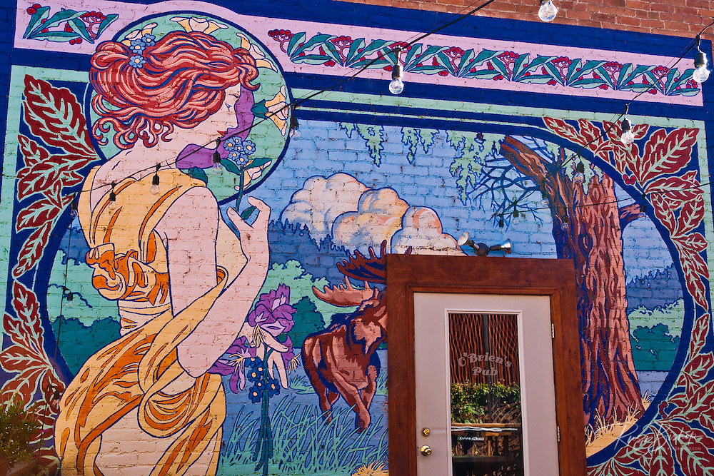 Mural at O'brien's Pub, Ouray, Colorado