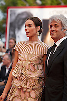 Domenico Procacci and Kasia Smutniak at the gala screening for the film Everest and opening ceremony at the 72nd Venice Film Festival, Wednesday September 2nd 2015, Venice Lido, Italy.