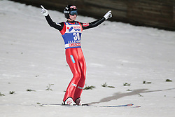 24.11.2012, Lysgards Schanze, Lillehammer, NOR, FIS Weltcup, Ski Sprung, Herren, im Bild Fannemel Anders (NOR) during the mens competition of FIS Ski Jumping Worldcup at the Lysgardsbakkene Ski Jumping Arena, Lillehammer, Norway on 2012/11/23. EXPA Pictures © 2012, PhotoCredit: ..EXPA/ Federico Modica