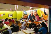 Malaysia, Kuala Lumpur. fast food restaurants at Kuala Lumpur Sentral (KL Sentral) railway station.