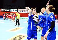 Håndball ,26. mars 2014 , Eliteserien herrer<br /> Drammen - Follo<br /> Gøran Sørheim , DHK
