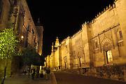 Spanje, Cordoba, 6-5-2010De moskee van Cordoba werd gebouwd tijdens de 9e en 10e eeuw en gewijd als de kathedraal in 1236. Een juweel van Hispanics kunst, de Mezquita, met zijn 850 zuilen, dubbele bogen en Byzantijnse mozaiken, is een erfenis van het Omajad kalifaat in Spanje. In het centrum van het bos van de kolommen stijgt een 16de-eeuwse kathedraal.Foto: Flip Franssen/Hollandse Hoogte
