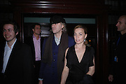Sir Bob Geldof and Jeanne Marine. Billy Elliot- The Musical opening night at the Victoria palace theatre and party afterwards at Pacha, London. 12 May 2005. ONE TIME USE ONLY - DO NOT ARCHIVE  © Copyright Photograph by Dafydd Jones 66 Stockwell Park Rd. London SW9 0DA Tel 020 7733 0108 www.dafjones.com