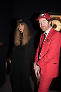 CHARLOTTE COLBERT; PHILIP COLBERT, Sotheby's Erotic sale cocktail party, Sothebys. London. 14 February 2018